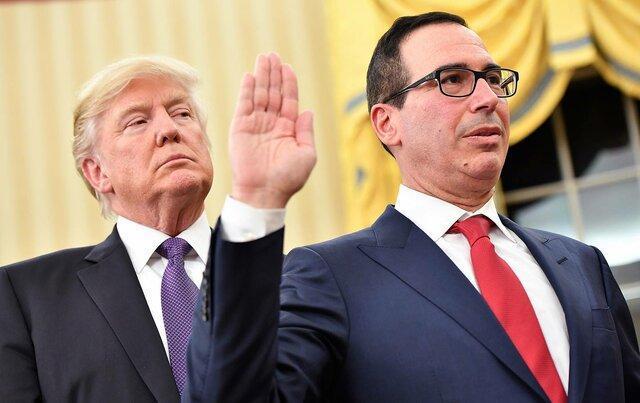 وزیر آمریکایی زیر بار انتشار اظهارنامه مالیاتی ترامپ نرفت