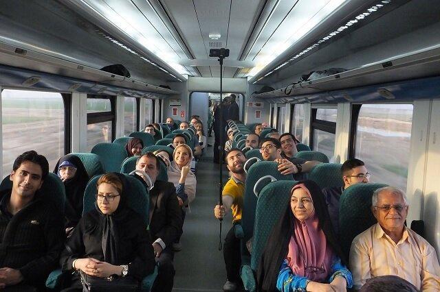 گردشگری راه آهن ایران با ریل رو