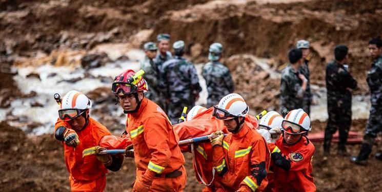 تلفات رانش زمین در گویژو به 36 نفر افزایش یافت
