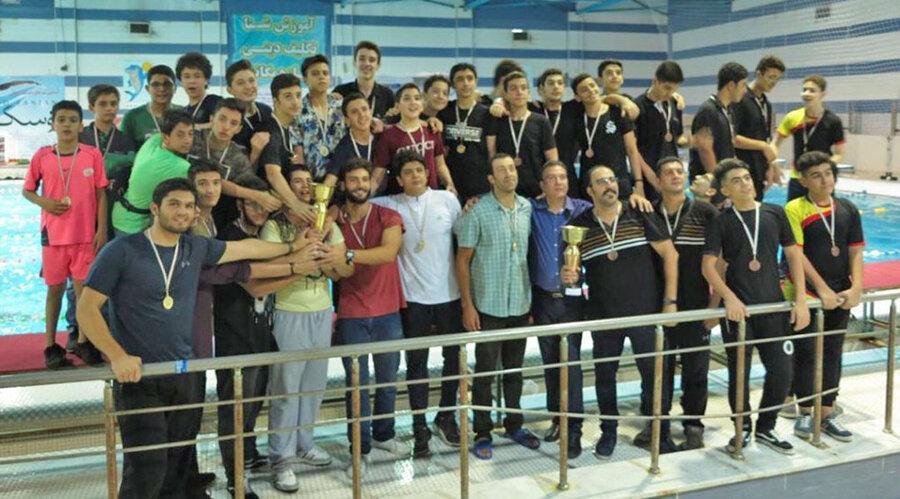 نتایج پایانی اولین دوره لیگ واترپولوی زیر 14 سال پسران