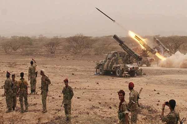 شلیک 4 موشک ارتش یمن به تجمعات مزدوران در نجران