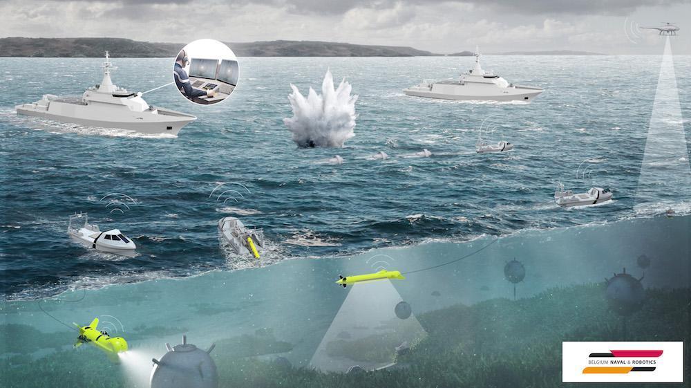 اذعان مقامات دریایی آمریکا به ناتوانی این کشور در مواجهه با مین های دریایی ایران