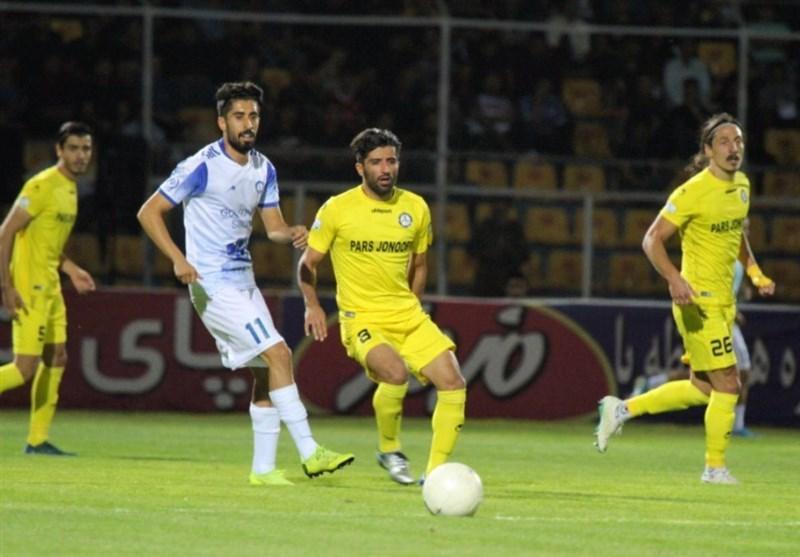 لیگ برتر فوتبال، تساوی نفت مقابل شهر خودرو و پارس برابر نساجی در نیمه اول