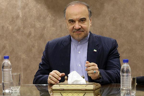 برگزاری دیدار تیم های ملی والیبال ایران ولهستان در حضور وزیر ورزش