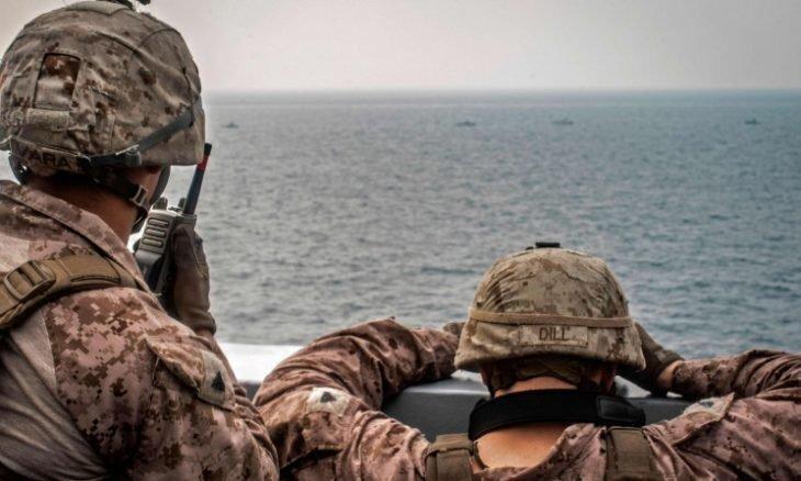 ائتلاف آمریکا مدعی آغاز عملیات در آب های خلیج فارس شد