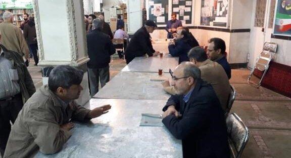 میزخدمت تامین اجتماعی به مناسبت دهه فجر برپا شد