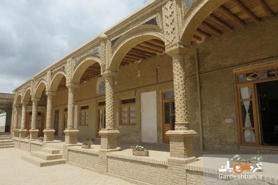 خانه امینی؛ بنای قاجاری زیبا در تربت حیدریه، عکس